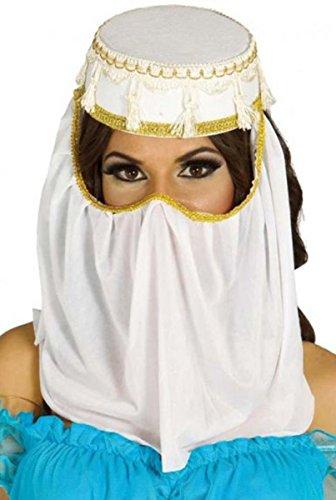 Ladies Arabian Nights Fancy Dress Party Costume Headwear Arab Princess Hat