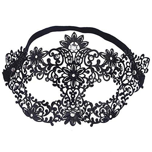 BinmerTM Luxury Mask Elegant Metal Cut Venetian Halloween Ball Masquerade
