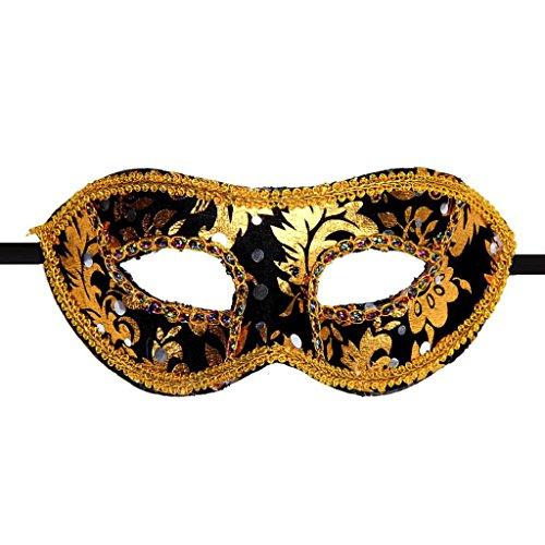 Luweki Venetian Masquerade Halloween Mask BK