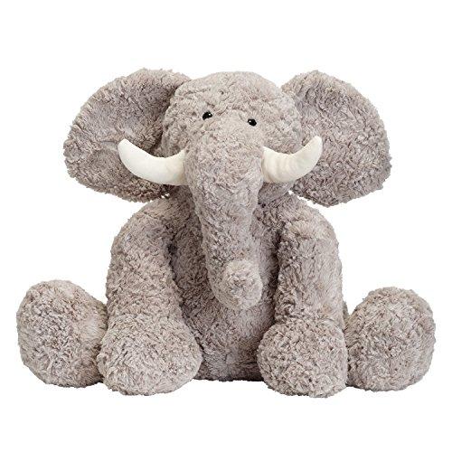 JOON Bobo The Elephant Stuffed Animal Grey 15 Inches