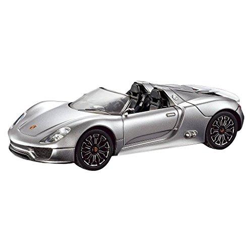Remote Control RC Porsche Spyder 124 Quick Speed Exceptional Detail - White