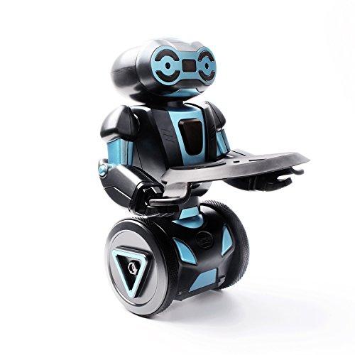 Fozela Intelligent Humanoid Robotic Remote Control Robot Smart Self Balancing Robot 5 Operating Modes Dancing Boxing Driving Loading GestureBlack