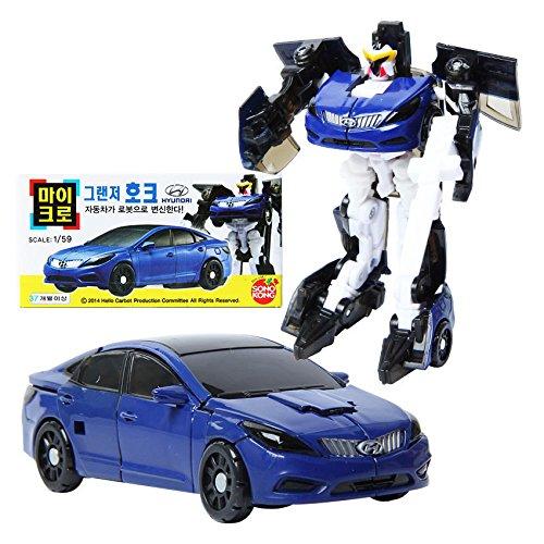 Hello Carbot Micro Grandeur Hawk Transformer Robot Car Toy Figure Scale 159