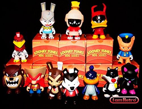 Looney Tunes Vinyl Figure Kidrobot Complete Set of 12 Figures