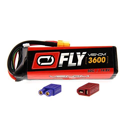 Sig Sbach XA-41 3D Sport 50C 4S 3600mAh 148V LiPo Battery with UNI 20 plug by Venom Compare to E-flite EFLB32004S30