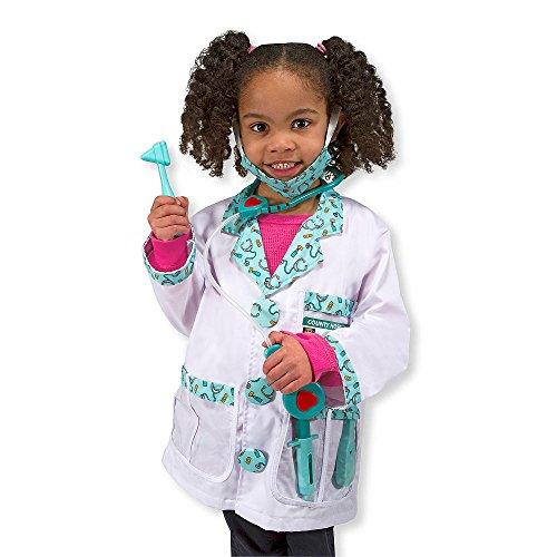 Melissa Doug Doctor Role Play Costume Set