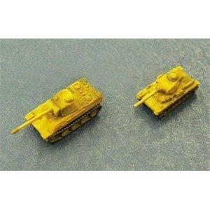 1350 Battle Tank 2 German Tanks B by Aoshima