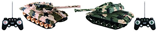 Rockn RC RC7939 Remote Control Battle Tank 2 Pack