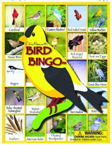 Bird Bingo Board Game by Lucy Hammett Games