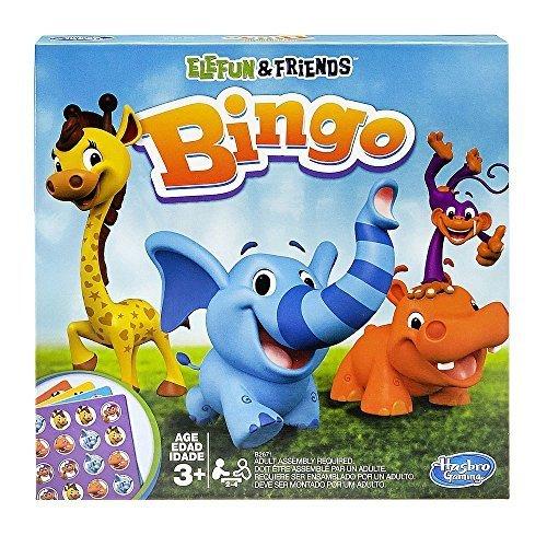 Elefun and Friends Bingo Board Game by Hasbro