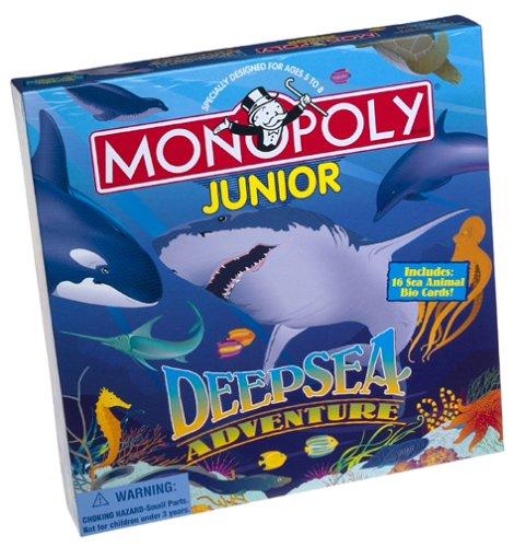 Monopoly Junior Deep Sea Adventure by USAopoly
