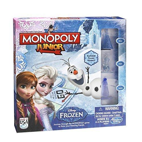 Monopoly Junior Frozen Edition by Hasbro