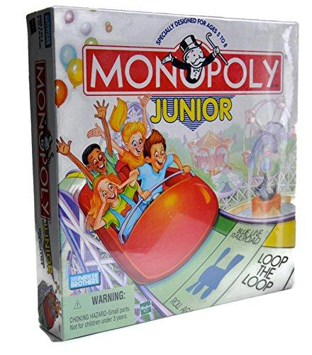 Monopoly Junior-RARE-Parker English Edition 1999