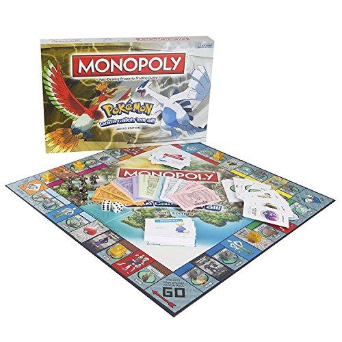 Monopoly Pokémon Johto Edition Board Game