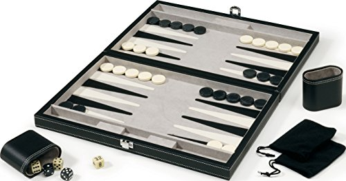 Mainstreet Classics 15-Inch Backgammon Board Game Set