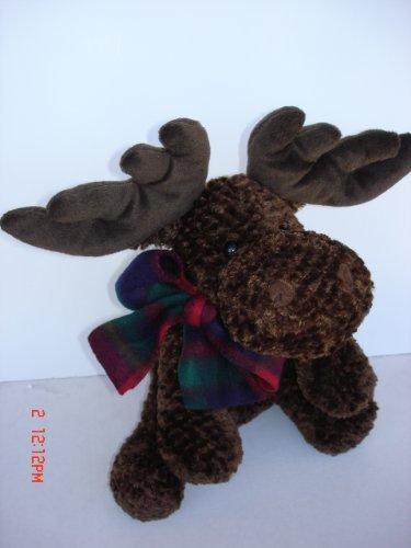 Adorable Holiday Plush Floppy Moose 15 Christmas Stuffed Animal
