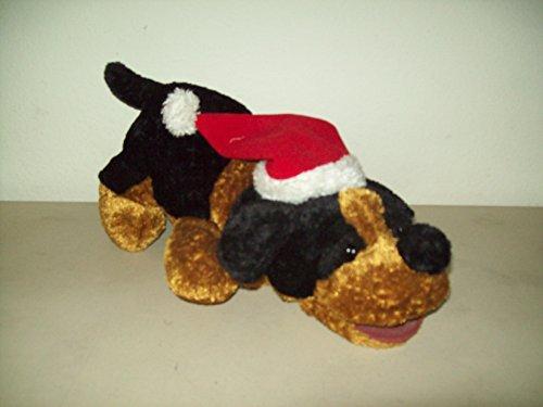 Christmas Stuffed Animal Dog with Barking Jingle