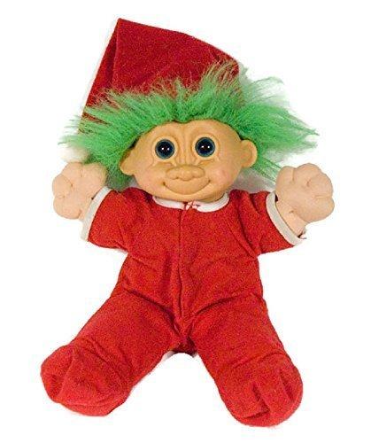 Russ 12 Troll Kidz Plush Doll Jangles Collectible Christmas Stuffed Animal by Russ Berrie