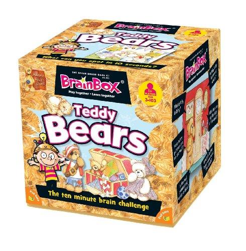 Green Board Games BrainBox Teddy Bears