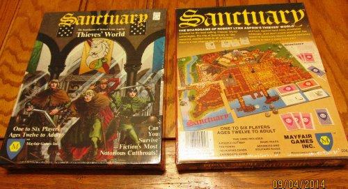 Sanctuary The Thieves World Boardgame BOX SET