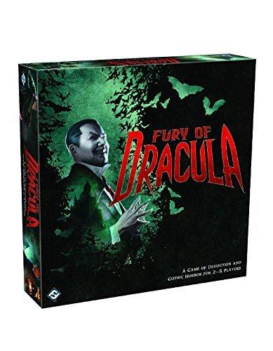Fury of Dracula Third Edition Board Game by Fantasy Flight Games