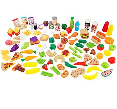 KidKraft 63330 Tasty Treat Pretend Play Food Set