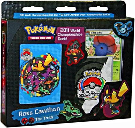 2011 Pokemon Card World Championships THE TRUTH Deck Ross Cawthon