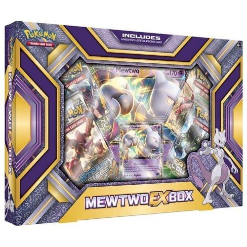 Pokémon TCG Mewtwo-EX Box Card Game