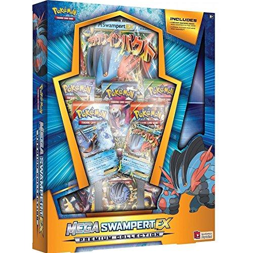 Pokemon TCG Mega Swampert EX Evolution Premium Collection Box Sealed