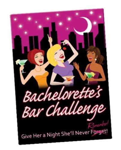 Bachelorettes Bar Challenge Card Game by Kheper Games