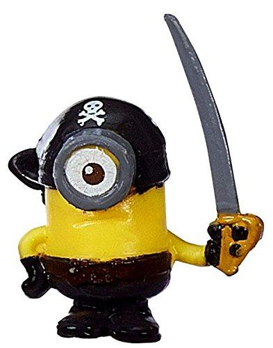 Despicable Me Minions Movie Challenge Card Game Pirate Stuart 1 Micro Figure 23 Loose