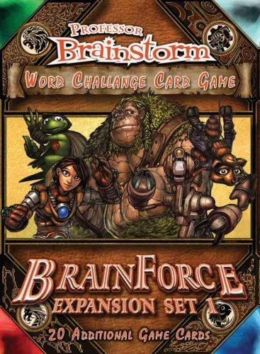 Professor Brainstorm Word Challenge Card Game BrainForce Expansion Pack