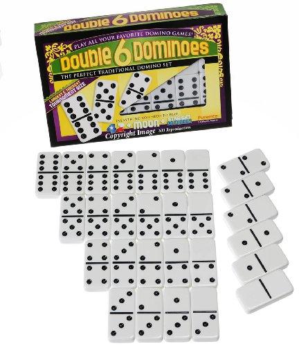 Double 6 Dominoes Tournament Size