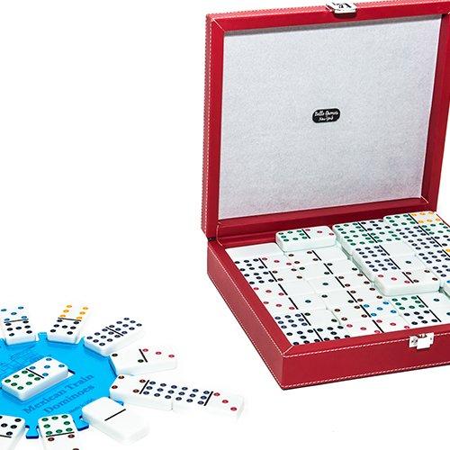 12th Street Double Twelve Domino Set with Free Bonus Hub