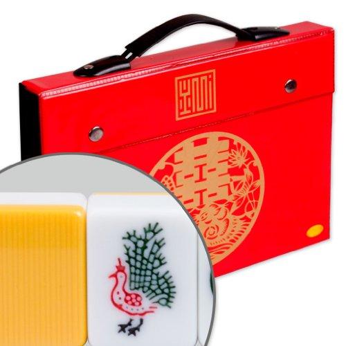 Professional Chinese Mahjong Game Set w Case - Standard