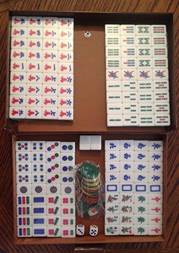 Traditional Chinese Version Mahjong Game Set