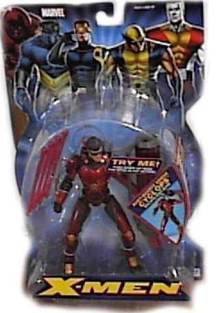 X-Men Classics Ruby Quartz Armor Cyclops Action Figure by Toy Biz