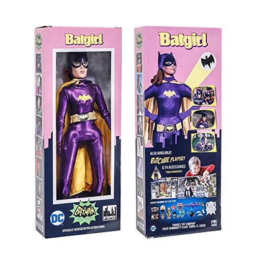 Figures Toy Company Batman Classic TV Series Boxed 8 Inch Action Figures Batgirl