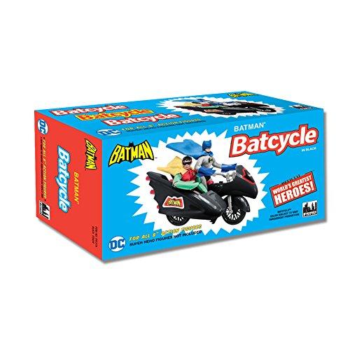 Figures Toy Company DC Comics Retro Batman Batcycle Playset Black