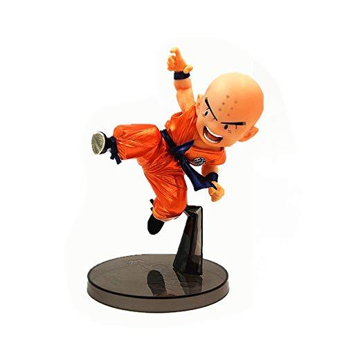 LLDDP Anime character Dragon Ball Martial Arts 2 Kulilin Metal Color PVC Model Dragon Ball Action Figure Cartoon Character Toy