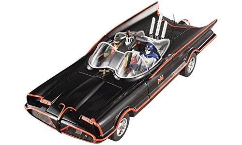 1966 TV Series Batmobile With Batman Robin Figures 118 by Hotwheels DJJ39