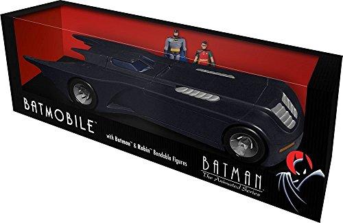 Batman The Animated Series Batmobile With Batman and Robin Bendable Figures