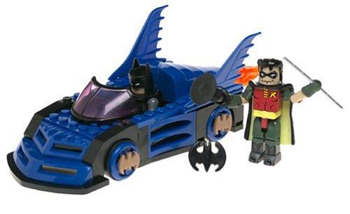 Mini-Batmobile With Batman and Robin Action Figures Building Set