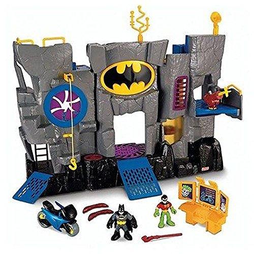 Fisher-price Imaginext Batcave Bat Cave with Batman Robin Figures