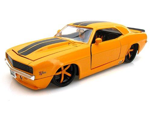 1969 Chevy Camaro Z28 124 Yellow - Jada Toys Diecast