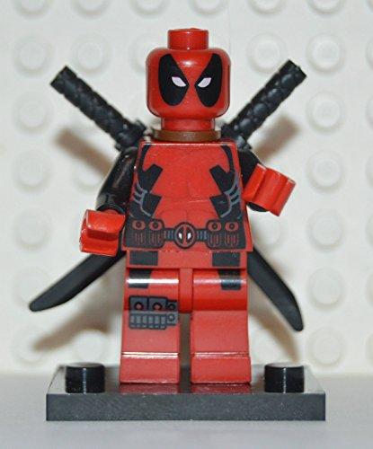Building Toys Minifigure Marvel Mini Figure Deadpool Custom Superhero