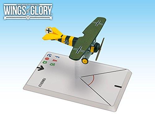 Wings of Glory Airplane Pack - Fokker Ev Osterkamp - Figure