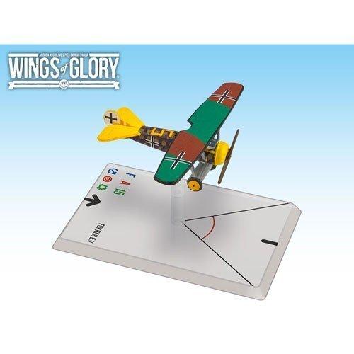 Wings of Glory Airplane Pack - Fokker Ev Sharon - Figure