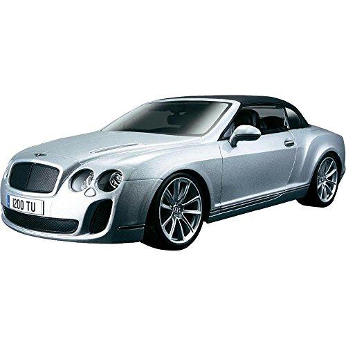 Bburago 118 Scale Bentley Continental Supersports Convertible Diecast Vehicle