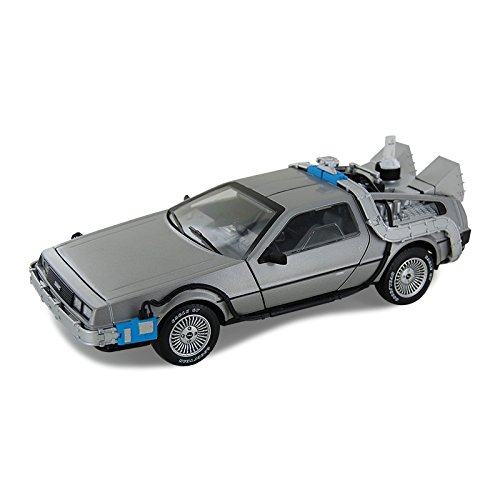 Hot Wheels Collector Back to the Future Time Machine with Mr Fusion Die-cast Vehicle 118 Scale